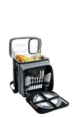Picnic Cooler for Two - Houndstooth