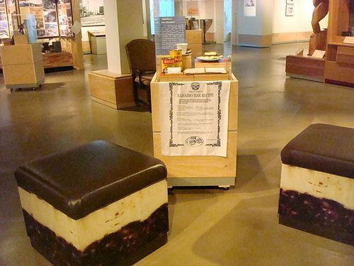 "I want to visit the Nanaimo museum in Nanaimo, Vancouver, and then go on the Nanaimo ""bar"" trail there."