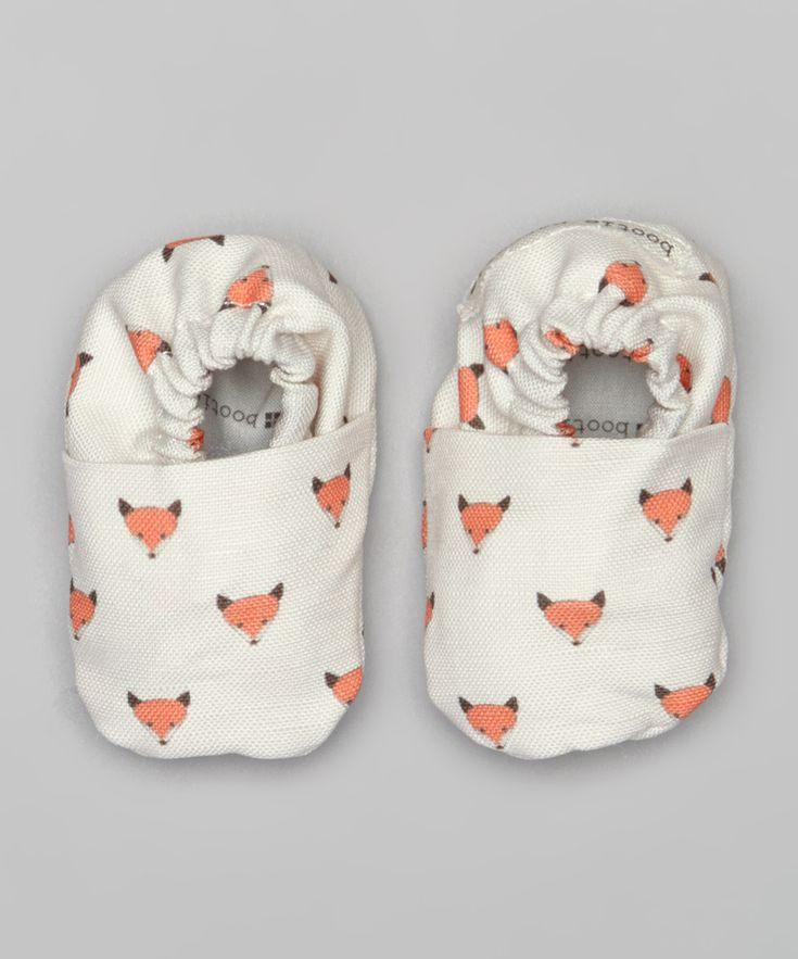 White Fox Booties