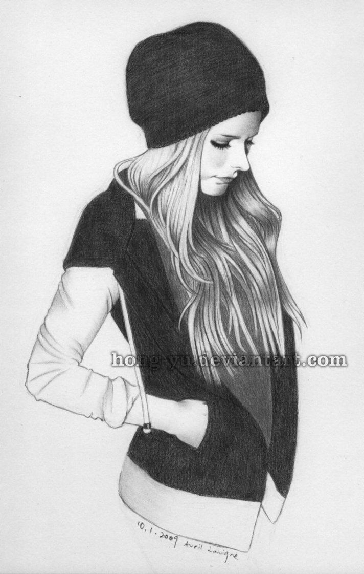 Avril Lavigne 7 by Hong-Yu on DeviantArt