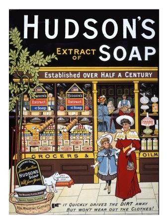 Hudson's Soap Landscape Gicléedruk