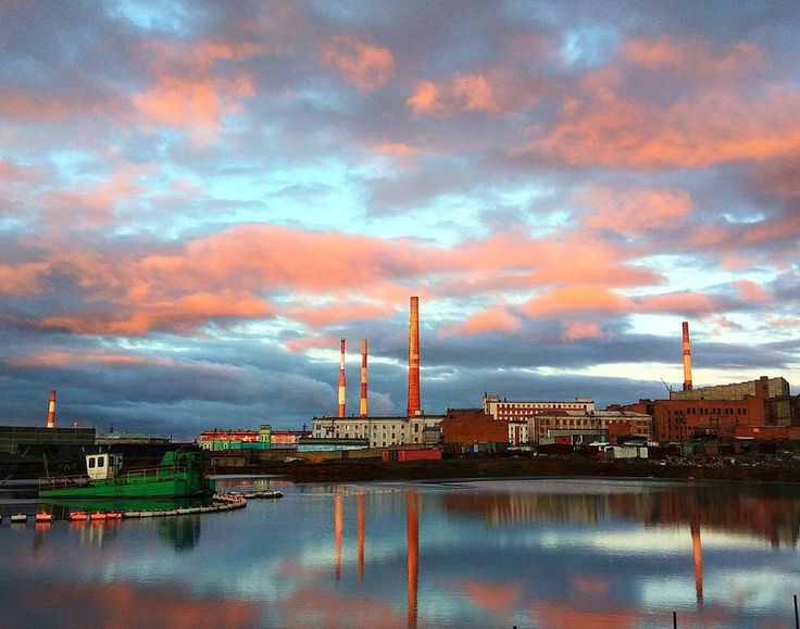 Norilsk sky - Summer dawns and sunsets