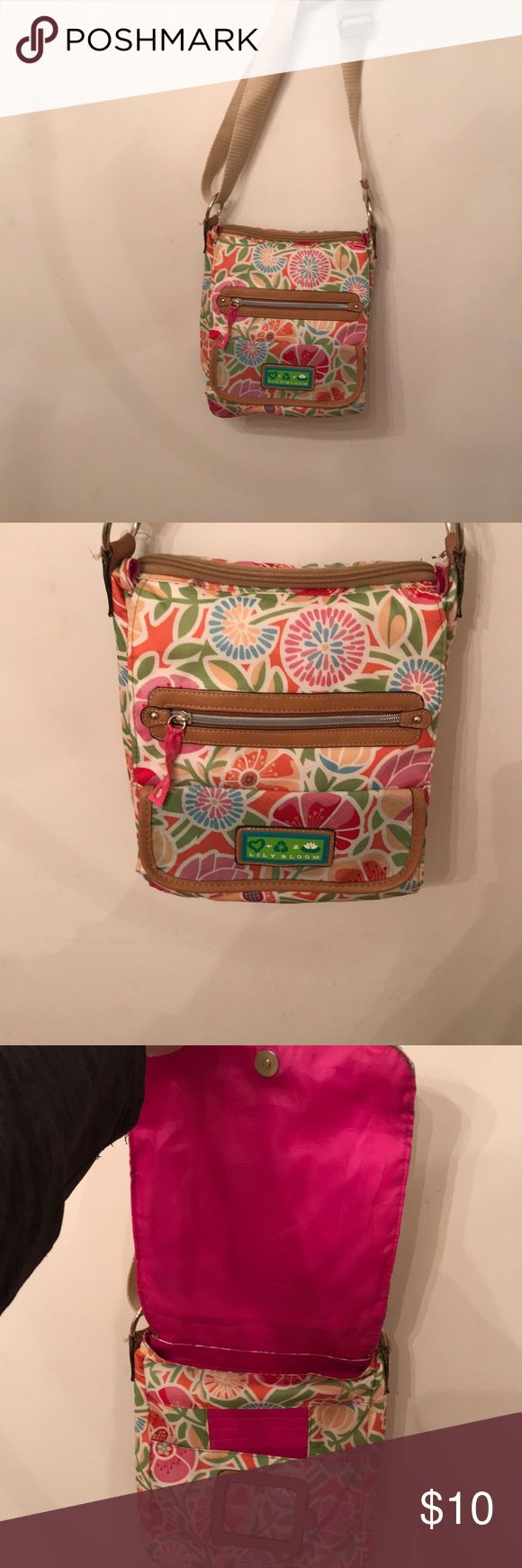 Lily Bloom crossbody style ladies purse floral From Belks dept store only carried once Retailed $55 in Asheville NC Belks this is the handiest crossbody if you love that kinda style like New . lily bloom Bags Crossbody Bags