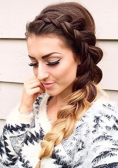 Inverted-French-Side-Braid