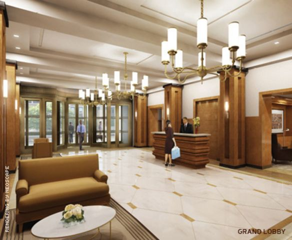Big apartment building lobby interior design ideas for Apartment interior design mysore