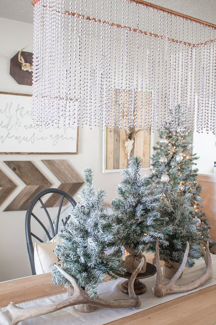 1713 best holiday style challenge images on pinterest fall a gorgeous diy copper pipe chandelier adds extra sparkle to this metallic holiday decor styled by