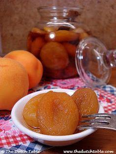The Dutch Table: Boerenmeisjes (Dutch Brandied Apricots)