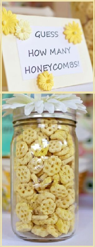 Bumble Bee Baby Shower Theme | Time for the Holidays