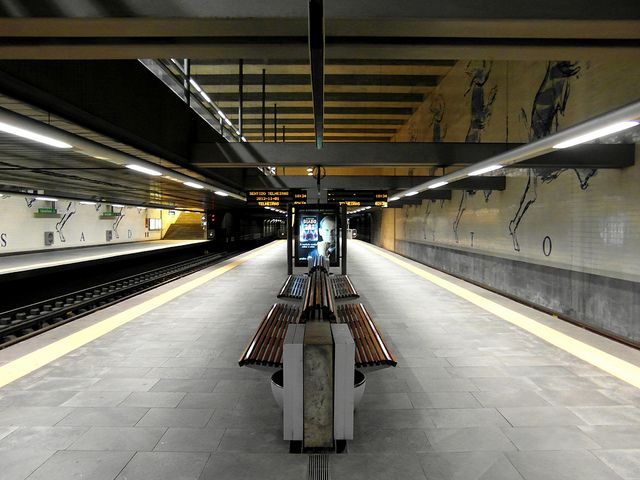 Metro de Lisboa - Estação Cais do Sodré | Flickr - Photo Sharing!