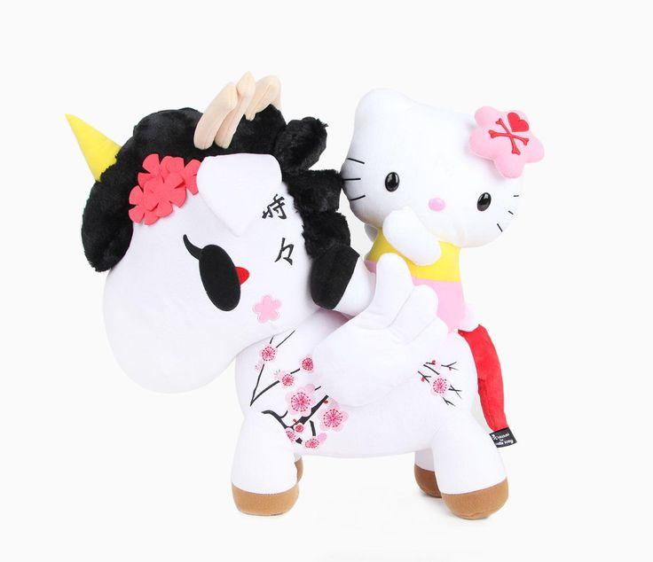 """Tokidoki x Hello Kitty 20"""" Large Plush: Unicorno *(^o^)/*"""