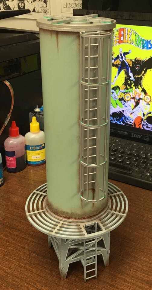 Tower Fuel Rule : Water fuel tower main part of the tank is pvc tube