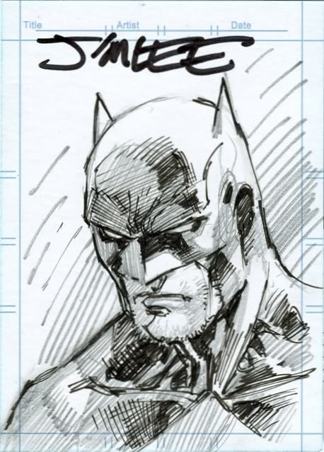 Jim Lee - Batman Card
