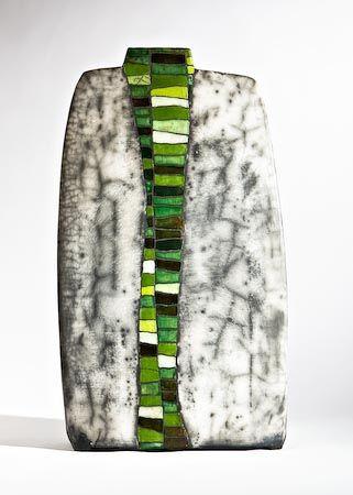 """""""Zwei Welten"""" vase by Ute Grossmann"""