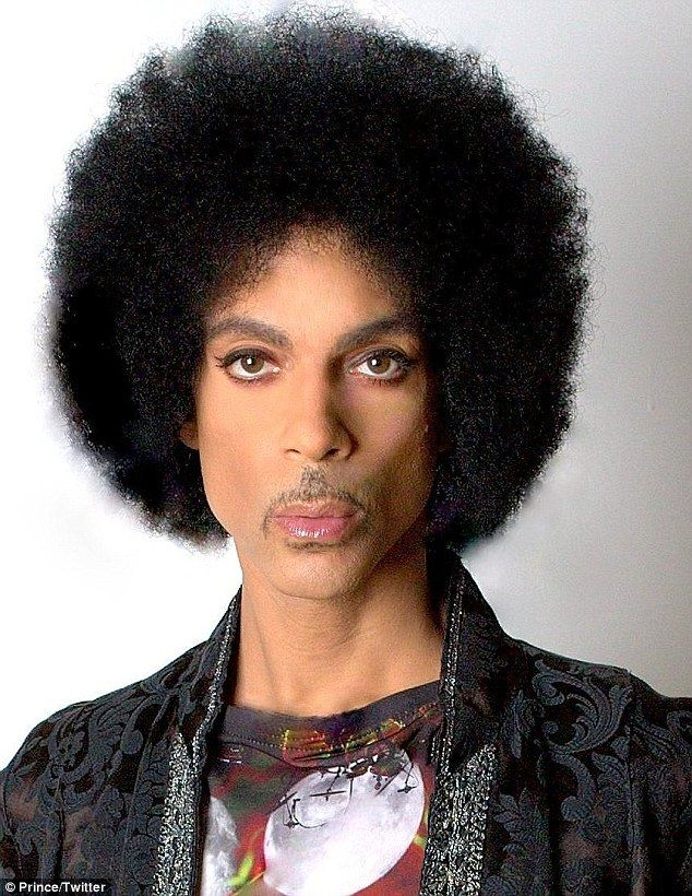 'Prince Rogers Nelson - Passport Picture 2/11/16': Prince shared the epic passport photo of himself sporting a natural afro, eyeliner, and glossy pursed lips with his 127K followers last week