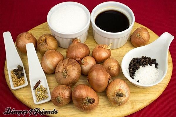 Balsamico-Zwiebeln einlegen