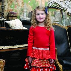Oobi always has something different Sienna Scarlet Dress