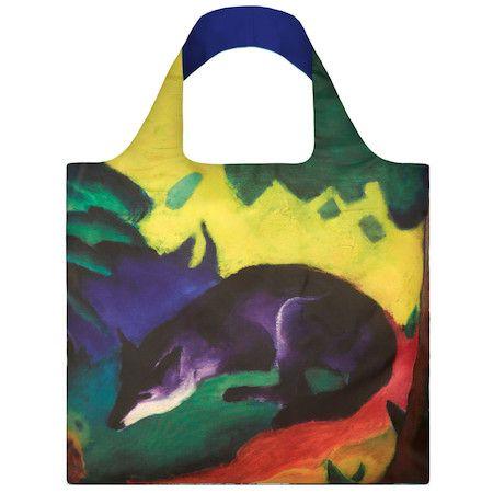 LOQI Shopping Bag Blue Fox - Marc