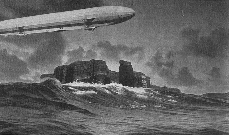 The Helgoland Island air disaster occurred on 9 September 1913 after the airship Zeppelin LZ 14 had been transferred to the Imperial German Navy on 7 October 1912. As the first airship owned by the Navy, it was given the serial number L-1. With 20 people on board, L-1 flew into a strong storm, crashing 32 km; 17 nmi (20 mi) north of Heligoland into the North Sea, breaking in two. The control car sank, drowning 14 of its occupants.