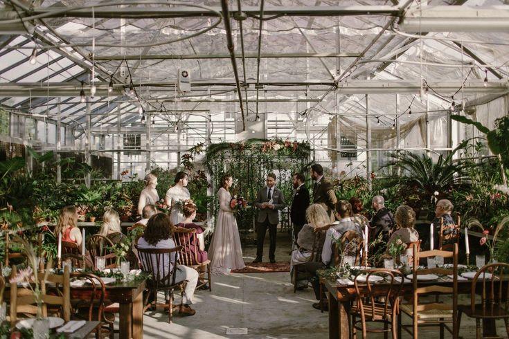 Oakland Cemetery Greenhouse Weddings