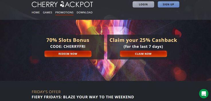 cherry jackpot casino promotions