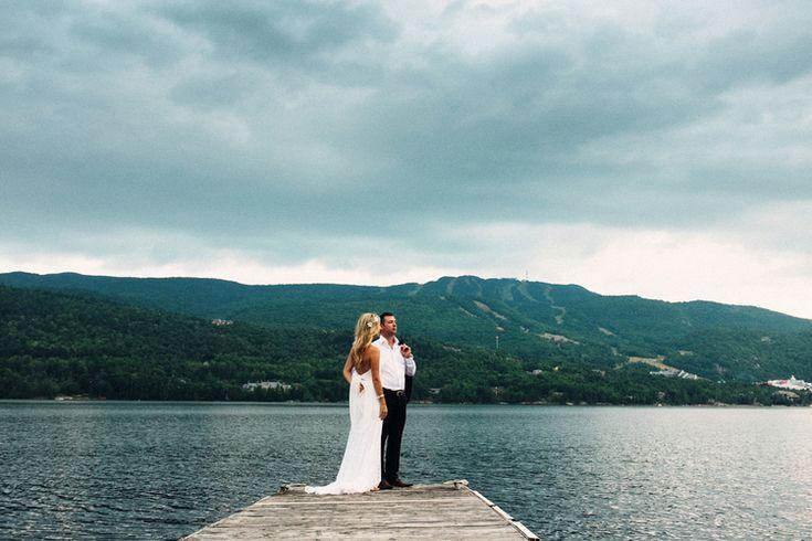 Hotel du Lac wedding ceremony