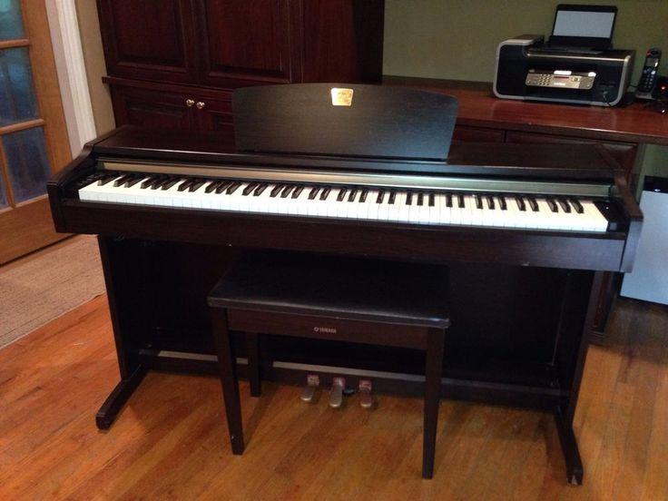 Used Yamaha Clavinova CLP-115 Piano Music Musical Instrument 88 Keys Keyboard #Yamaha