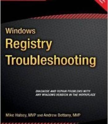 Windows Registry Troubleshooting PDF