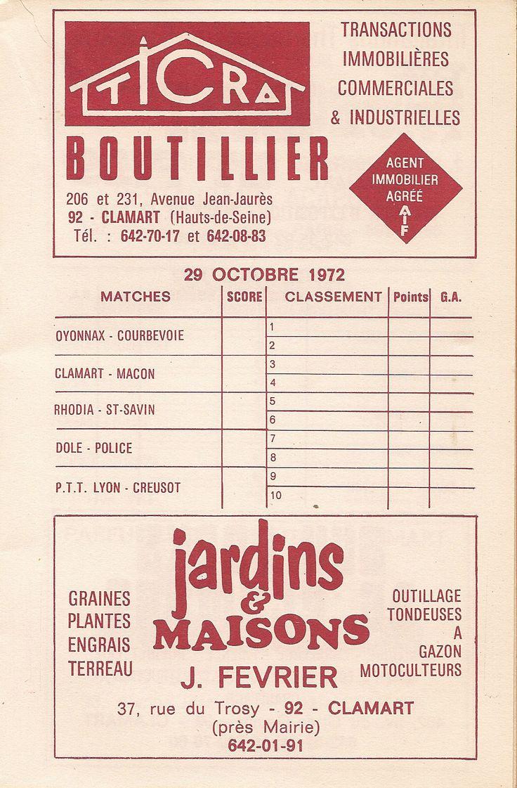 Calendrier 1972-1973 - 2ème Division - Page 9