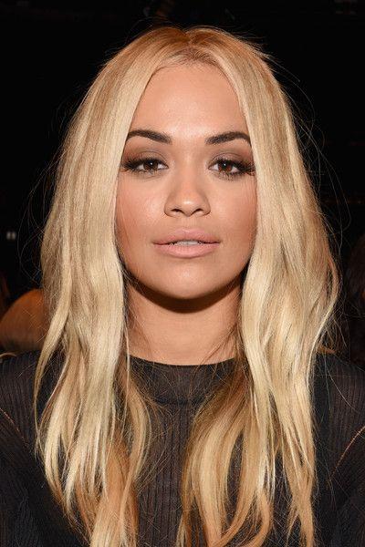 Singer Rita Ora attends Vera Wang Spring 2016 during New York Fashion Week at Cedar Lake on September 15, 2016 in New York City.