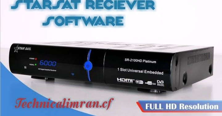 StarSat Reciever Latest Software | Satellite Dish