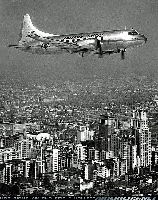 Convair 240-0 aircraft picture...my first airplane ride was on this model at age 12 as a birthday present.-vb