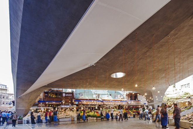 Besiktas Fish Market refurbishment by GAD | urdesign magazine