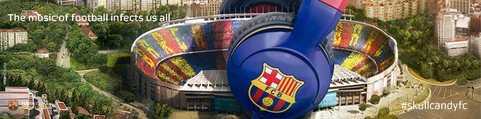 SkullCandy FC Barcelona Headphones And Barca Camp Nou Stadium http://coolpile.com/gadgets-magazine/skullcandy-fc-barcelona-headphones/ via coolpile.com by @Skullcandy  #Audio #Bass #FCBarcelona #Headphones #SkullCandy #Soccer #coolpile