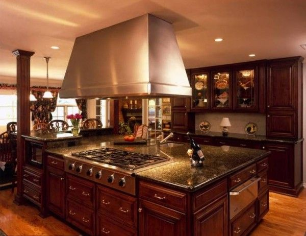 large family kitchen designs : large kitchen designs ideas with