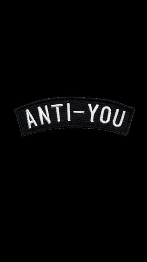 Imagem de black, anti-you, and white