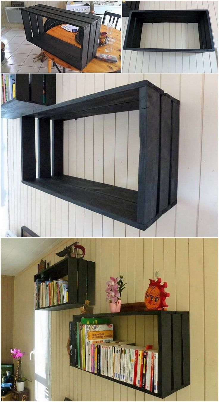 best 25 wall shelving units ideas on pinterest wall. Black Bedroom Furniture Sets. Home Design Ideas