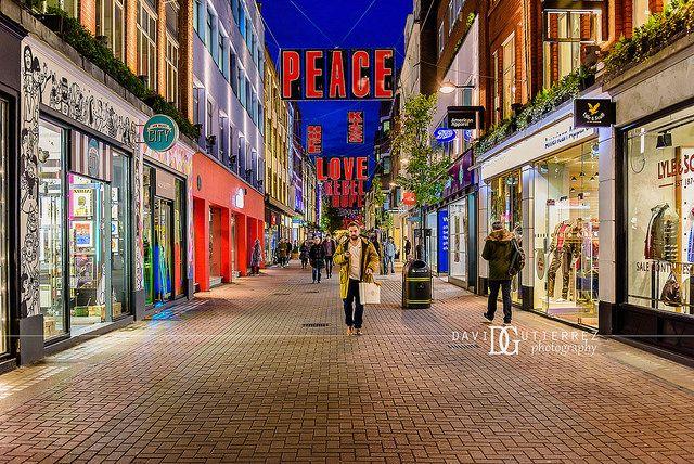 """Switch On"" Christmas, Carnaby Street, London, UK. Image by David Gutierrez Photography, London Photographer. London photographer specialising in architectural, real estate, property and interior photography. http://www.davidgutierrez.co.uk #realestate #property #commercial #architecture #London #Photography #Photographer #Art #UK #City #Urban #Beautiful #Interior #Arts #Cityscape #Travel #Building #Night #Twilight #Street #Soho #Christmas"