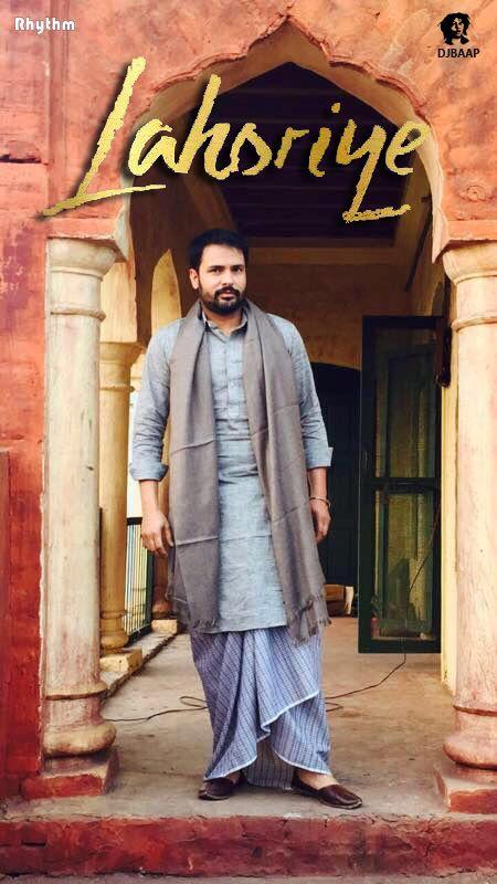 Lahoriye Punjabi movie by Amrinder Gill launched 4th official poster on Amrinder Gill official Facebook account at 19-04-2017.