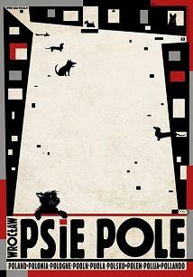 Ryszard Kaja - Psie Pole, Wrocław,  plakat z serii Polska, Ryszard Kaja