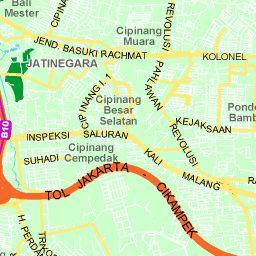 Peta Jakarta : Peta Jalan & Satellite Jakarta - Indonesia