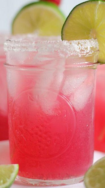 Raspberry Beer Margaritas Recipe