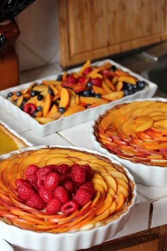 12 Beautiful Fruit Tarts for Easter