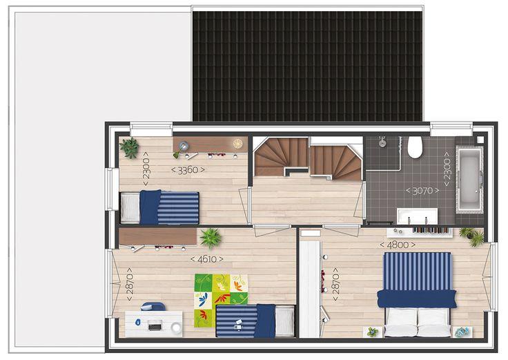 2.5D - Houtryck - Eerste verdieping