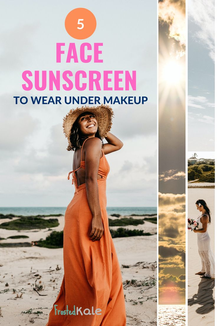 Get the facts on the best sunscreen for your face! Face