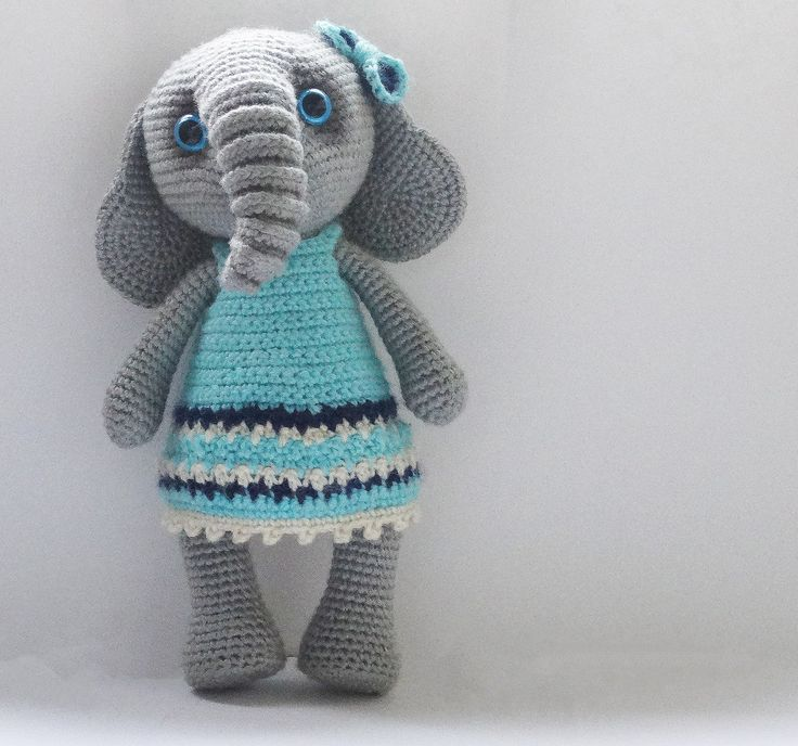 63 best Elefántok (Amigurumi) images on Pinterest | Amigurumi ...