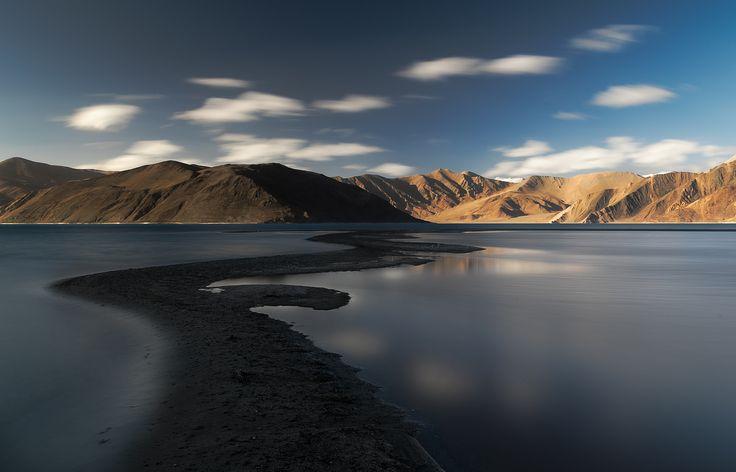 Pathway to Heaven - Long Exposure shot of Pangong Tso. Taken using NiSi ND filter