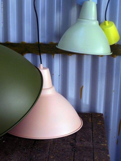sprayed IKEA lamps