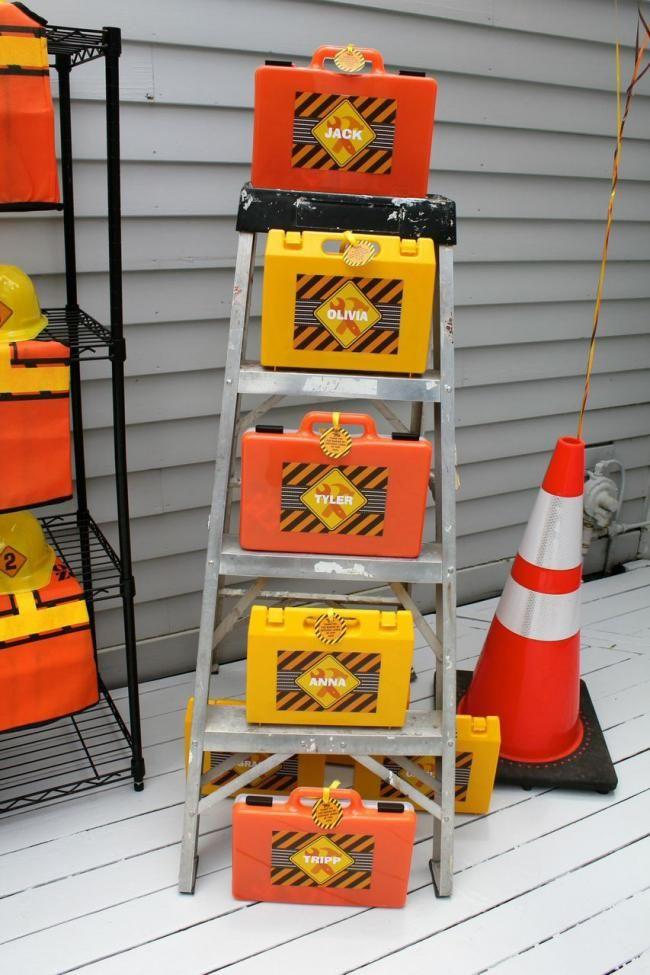 Construction Party Decoration Ideas