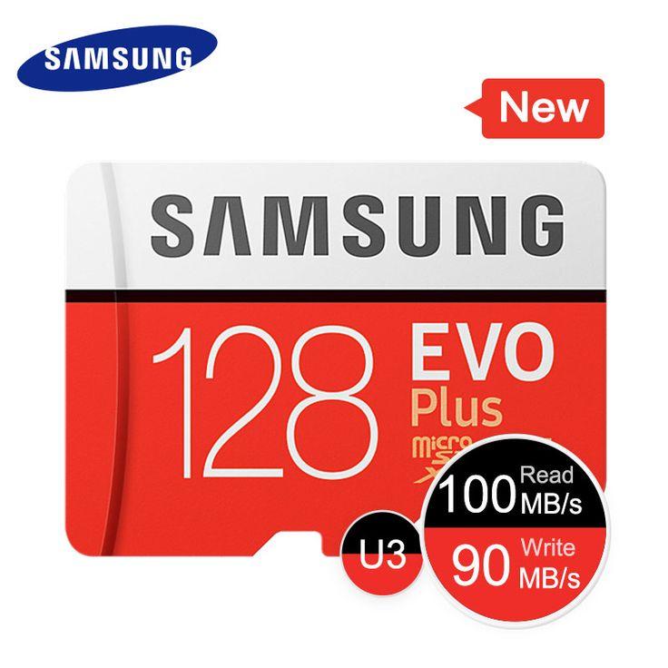<b>SAMSUNG Memory</b> Card EVO+ 256GB 128GB 64GB 32GB 16GB ...