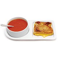 SOUP AND SANDWICH CERAMIC TRAY DUO|UncommonGoods